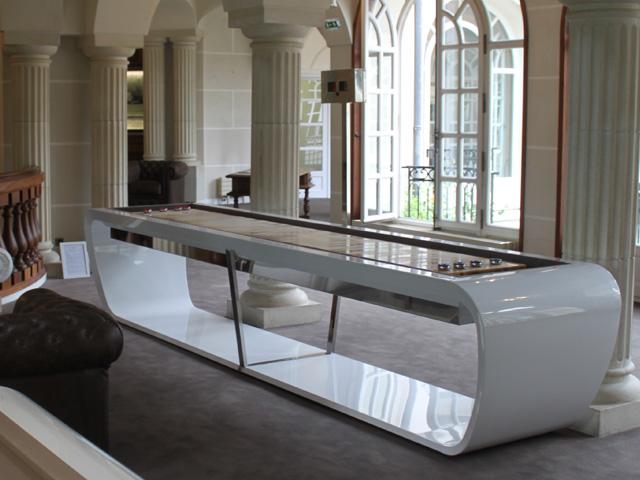 uniek design biljarttafel