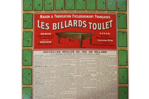oude biljarttafels