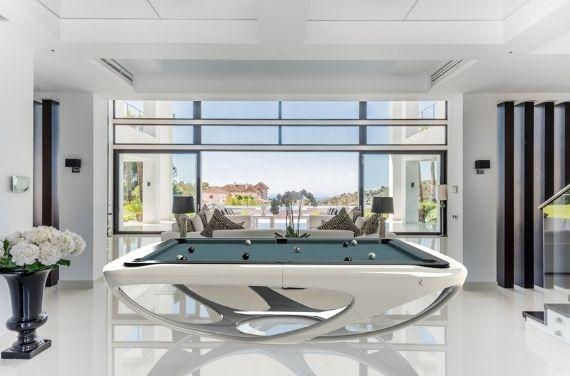 luxe design biljart Toulet